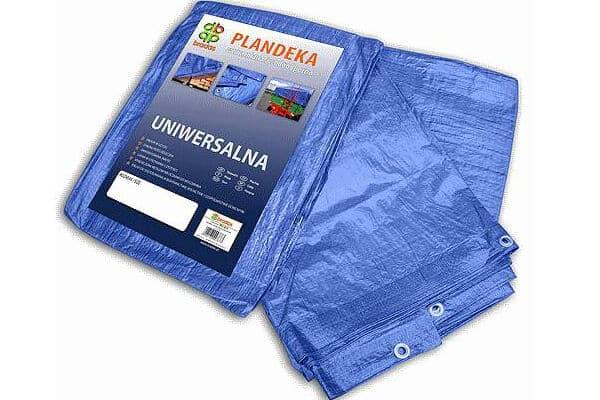 blue pe tarp