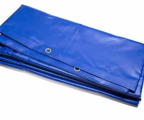 blue pvc tarp