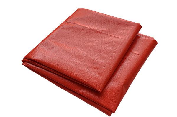 red tarp