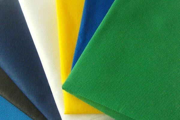 different color non woven fabric