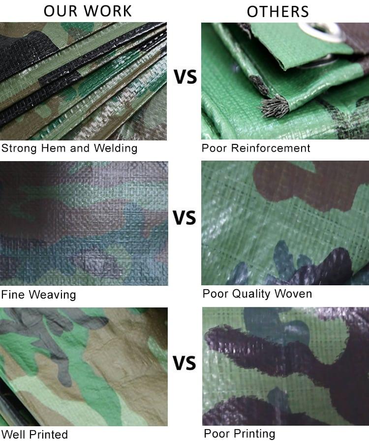 army tarpaulin