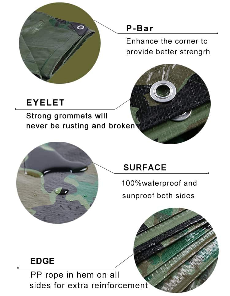 tarp army detail