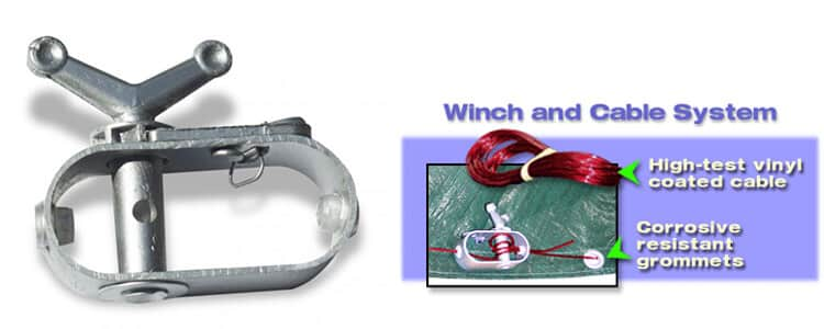 pool cover winch