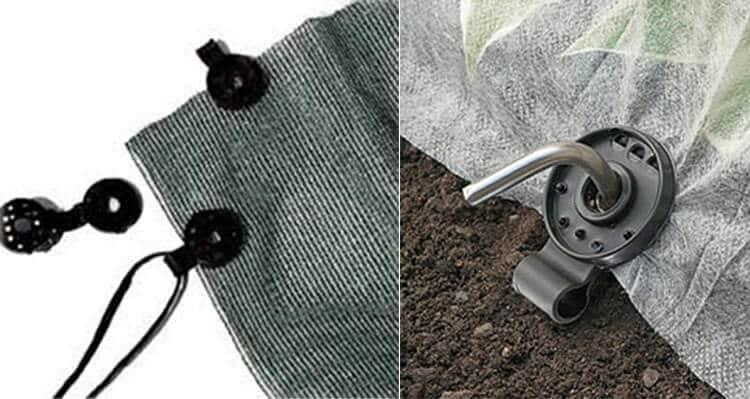 shade cloth circle clips