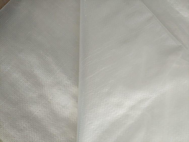 clear woven tarp